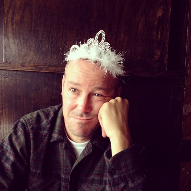 Wear a Tiara (He Clearly Never Thought That This Day Would Come Either)