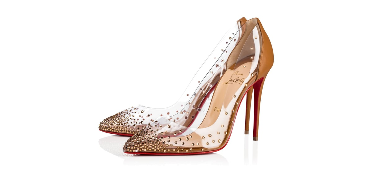 finest selection e813d cdfc8 Christian Louboutin Degrastrass PVC Maya Heels | Gigi Hadid ...