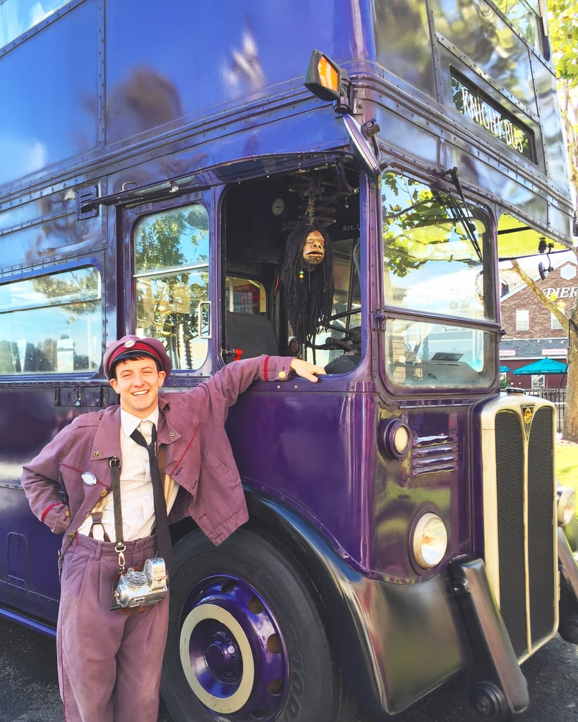 Visit Stan Shunpike and the Knight Bus