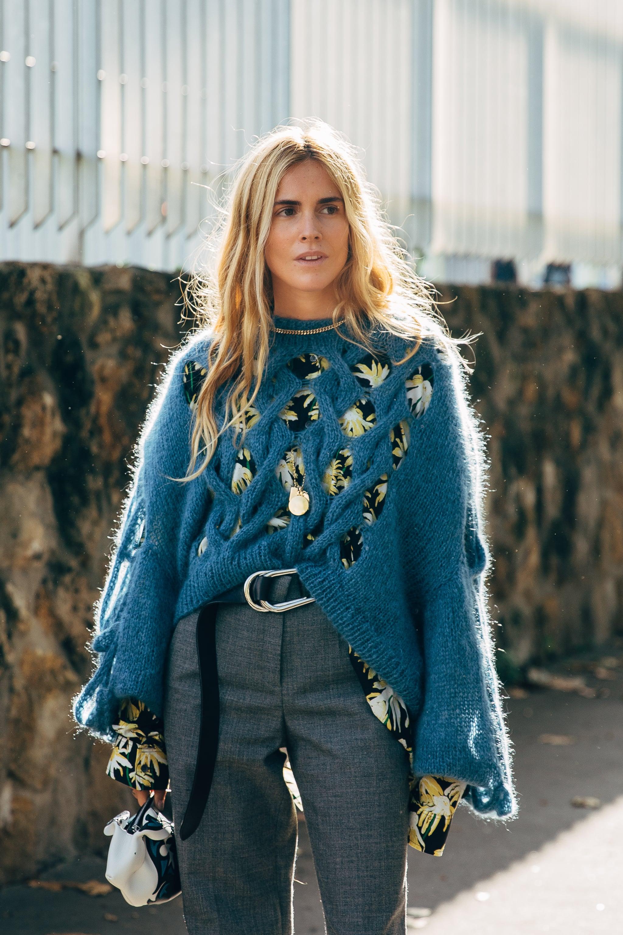 animación En el piso Benigno  PFW Day 5 | The Best Street Style at Paris Fashion Week Spring 2020 |  POPSUGAR Fashion UK Photo 303
