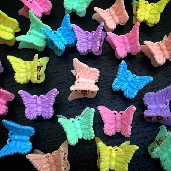 Including These Butterfly Clips