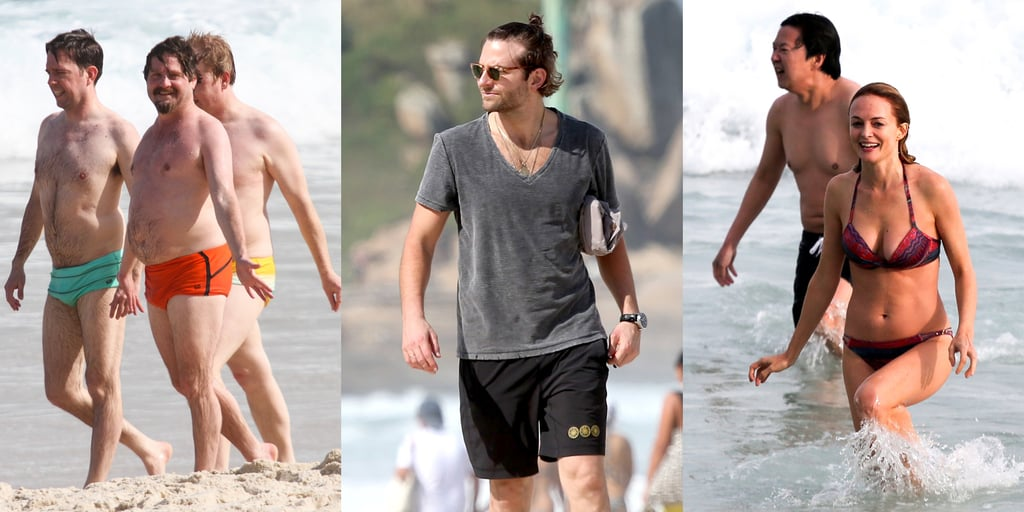 The Hangover Cast on the Beach in Brazil | Pictures