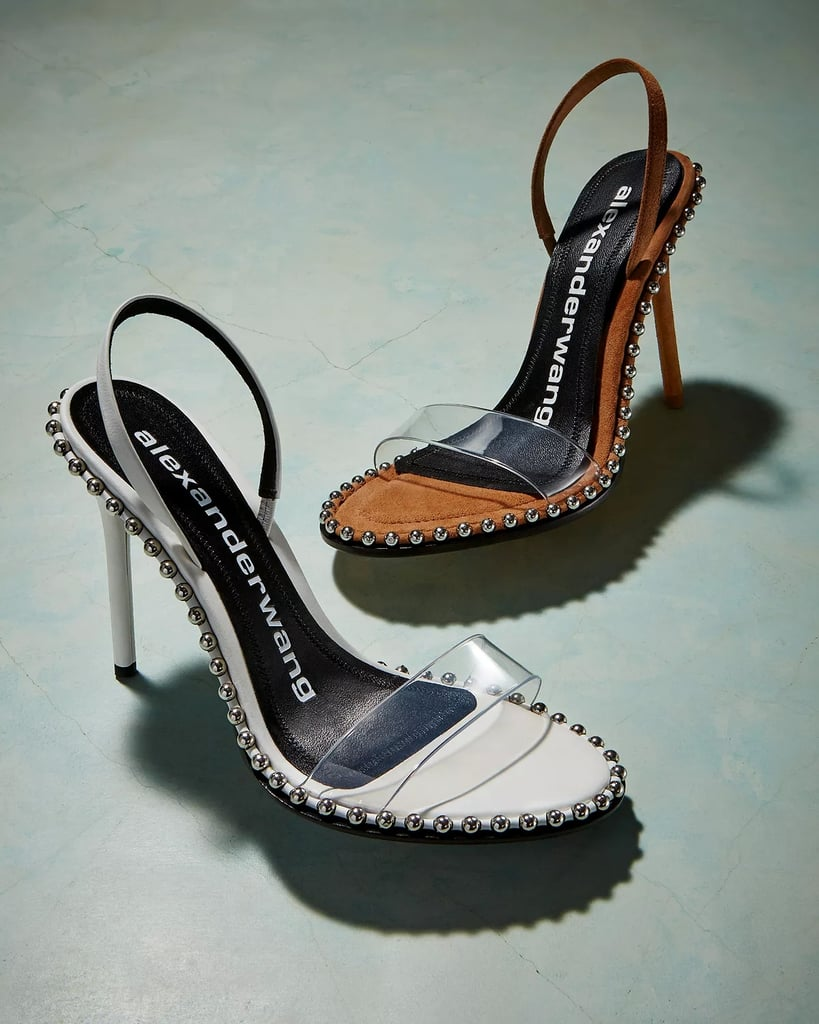 759cb8816794 Alexander Wang Women s Nova Slingback High-Heel Sandals Shoes ...