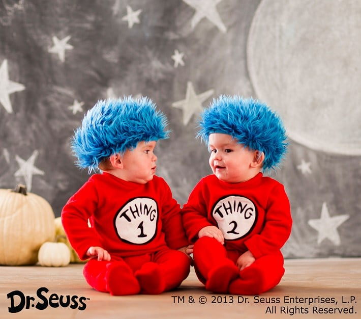 Thing 1 and Thing 2 Costume  sc 1 st  Popsugar & Thing 1 and Thing 2 Costume | Warm Halloween Costumes For Babies ...