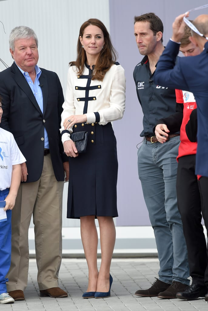 Kate Middleton In Alexander Mcqueen Military Dress May