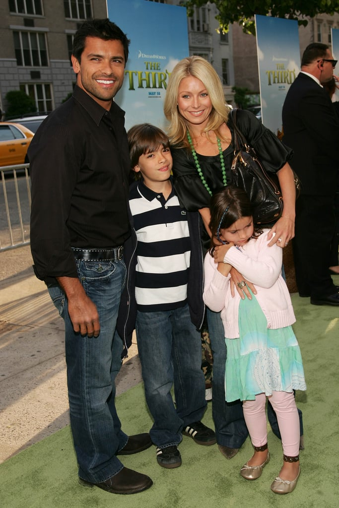 Kelly Ripa and Mark Consuelos Family Photos