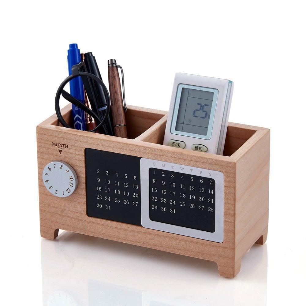 Artinova Wooden Office Desk Organiser