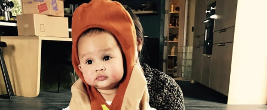Chrissy Teigen Is Very Appropriately Dressing Her Daughter as a Hot Dog For Halloween
