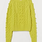 H&M Cable-Knit Wool-Blend Sweater