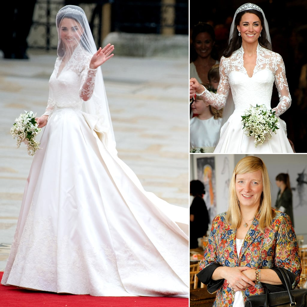 Kate Middleton and Sarah Burton