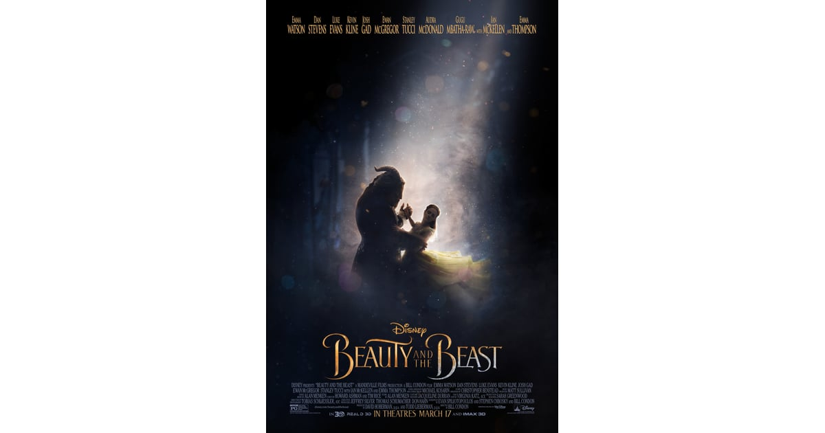 2017 Movie Posters: Beauty And The Beast 2017 Movie Posters