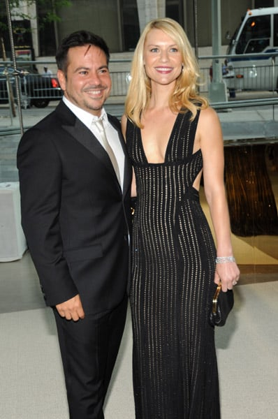Narciso Rodriguez with Claire Danes in his design