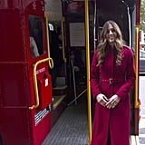 Kate Middleton (and Her New Hairstyle) Take the Bus