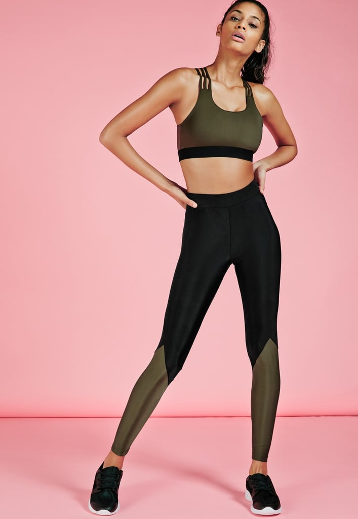 dc94ff7ca05940 Missguided Active Contrast Leggings (£16) | Best Affordable High ...