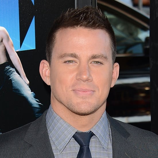 Channing Tatum Magic Mike Interview on Letterman