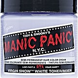 Manic Panic Virgin Snow Semi Permanent Cream Hair Color