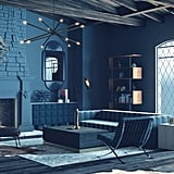 Harry Potter-Inspired Midcentury-Style Living Room