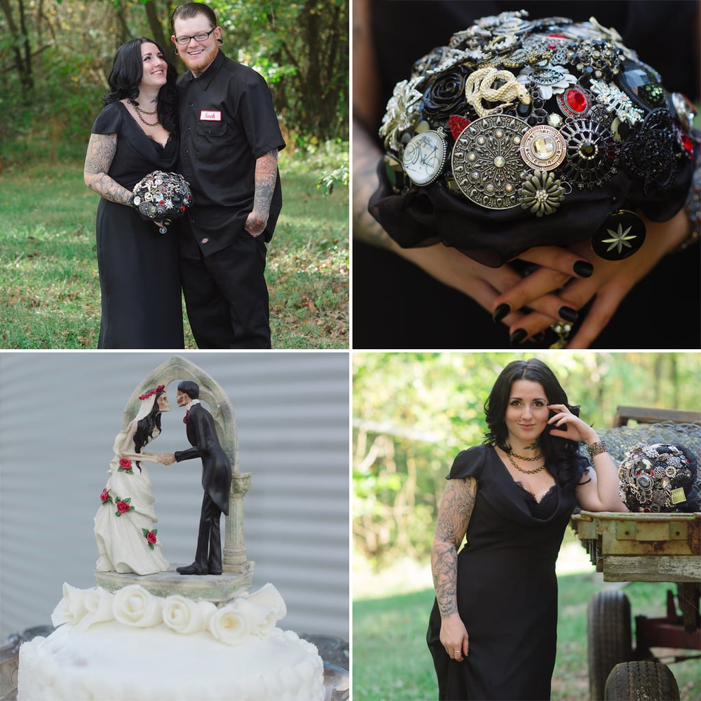 Halloween Weddings: Gothic Halloween Wedding