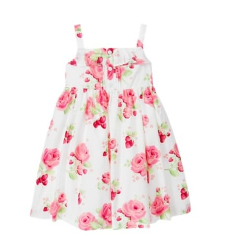 Janie and Jack Strawberry Rose Dress ($69)