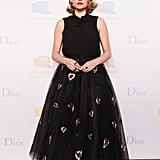 Haley Bennett Wearing Dior Spring '17
