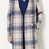 The subtle plaid on this Topshop Pale Check V Front Coat ($178) reminds us of the plaid we saw on our favorite street style stars.