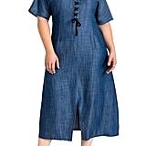 Standards & Practices Meme Tencel Midi Dress