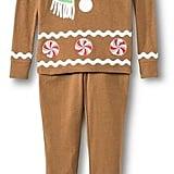 EV Holiday Kid's Holiday Gingerbread Pajama Set