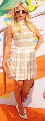 Paris Hilton Kids' Choice Awards
