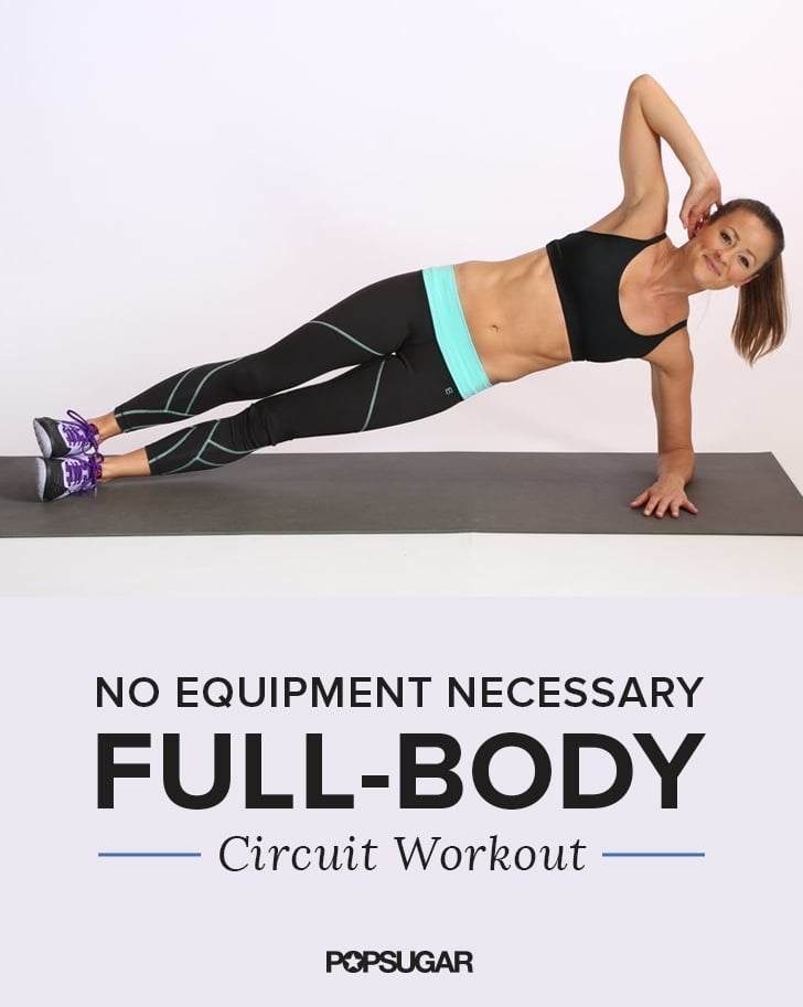 Full Body Circuit Workout To Strengthen Legs Abs And Arms