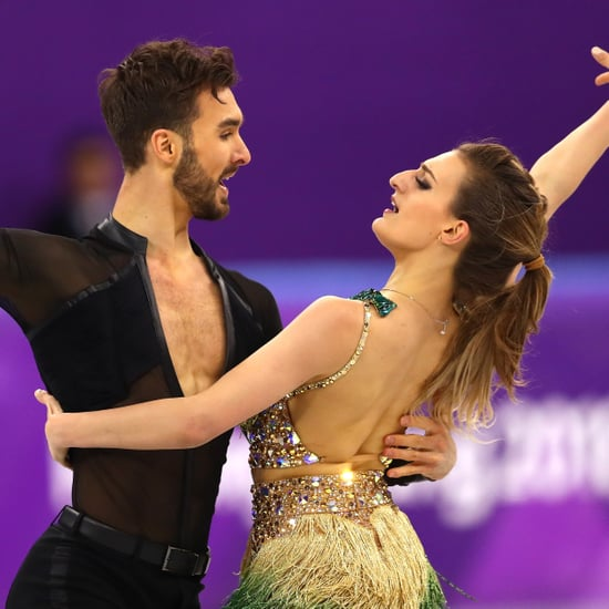 Team France Ice Dancing Wardrobe Malfunction
