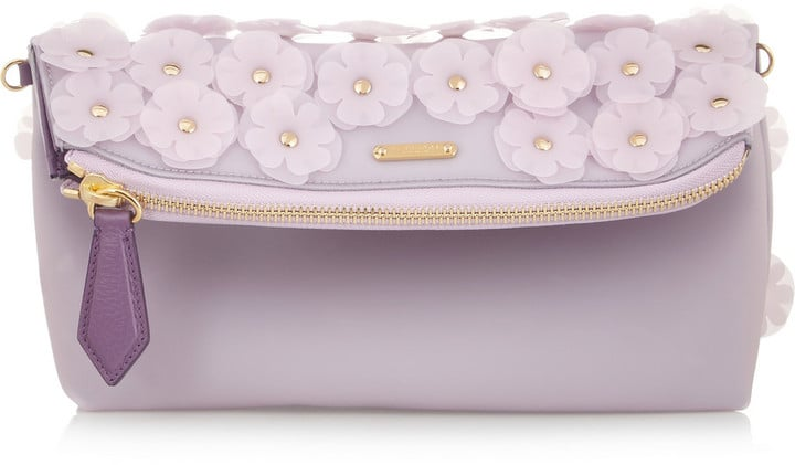 6e07cd3878cb Burberry Petal Leather-Trimmed PVC Clutch (£795). Share This Link