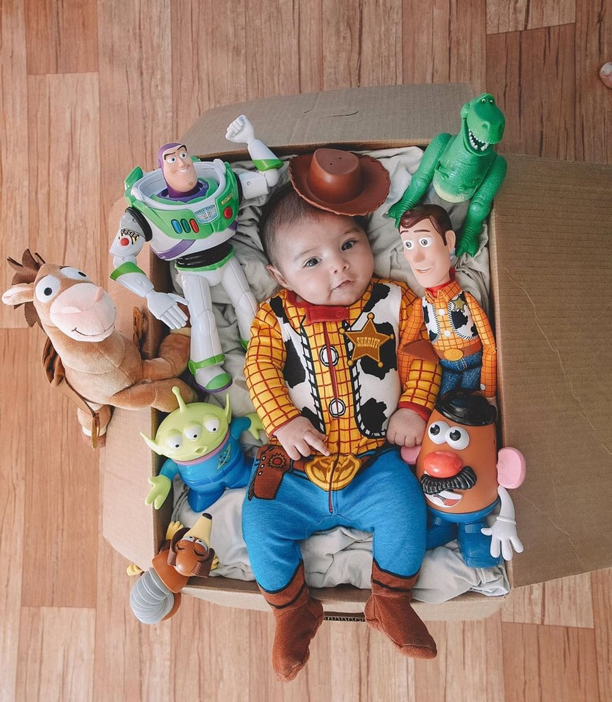 This Mom Had the Most Extra Toy Story Party and Photo Shoot For Her Son's 2-Month Birthday