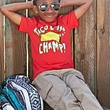 FabKids Taco Eating Graphic Tee