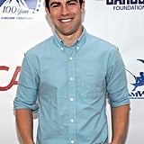 Max Greenfield attended the event with his wife and 3-year-old daughter.