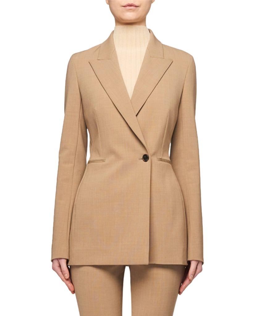 The Row Ciel Longer Wool Jacket