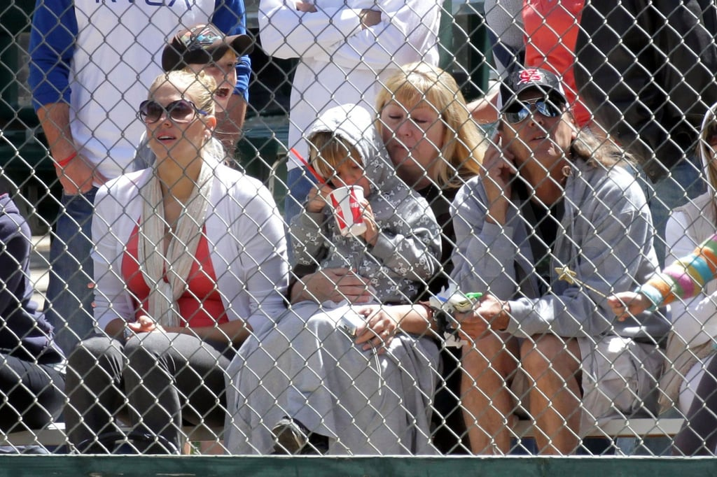 Britney Spears at Sean Preston's Little League Game