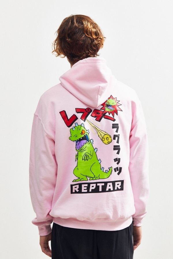 Urban Outfitters Reptar Pullover Hoodie Sweatshirt