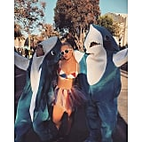 Left Shark, Katy Perry, and Right Shark