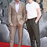 David Beckham Brings Brooklyn Along For His Big Movie Premiere