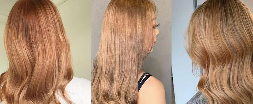 Ginger Orange Blossom Hair
