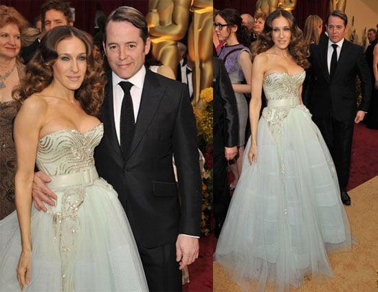 Photos of Sarah Jessica Parker and Matthew Broderick at the 2009 Oscars