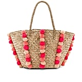 Seafolly Carried Away Pom-Pom Beach Basket