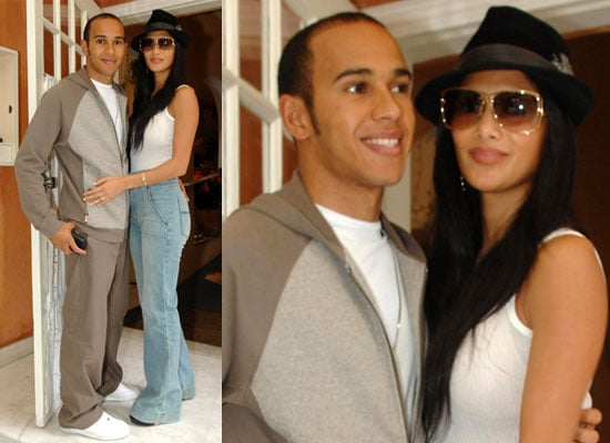 Photos Of Lewis Hamilton With Nicole Scherzinger After His Formula One Win in Brazil