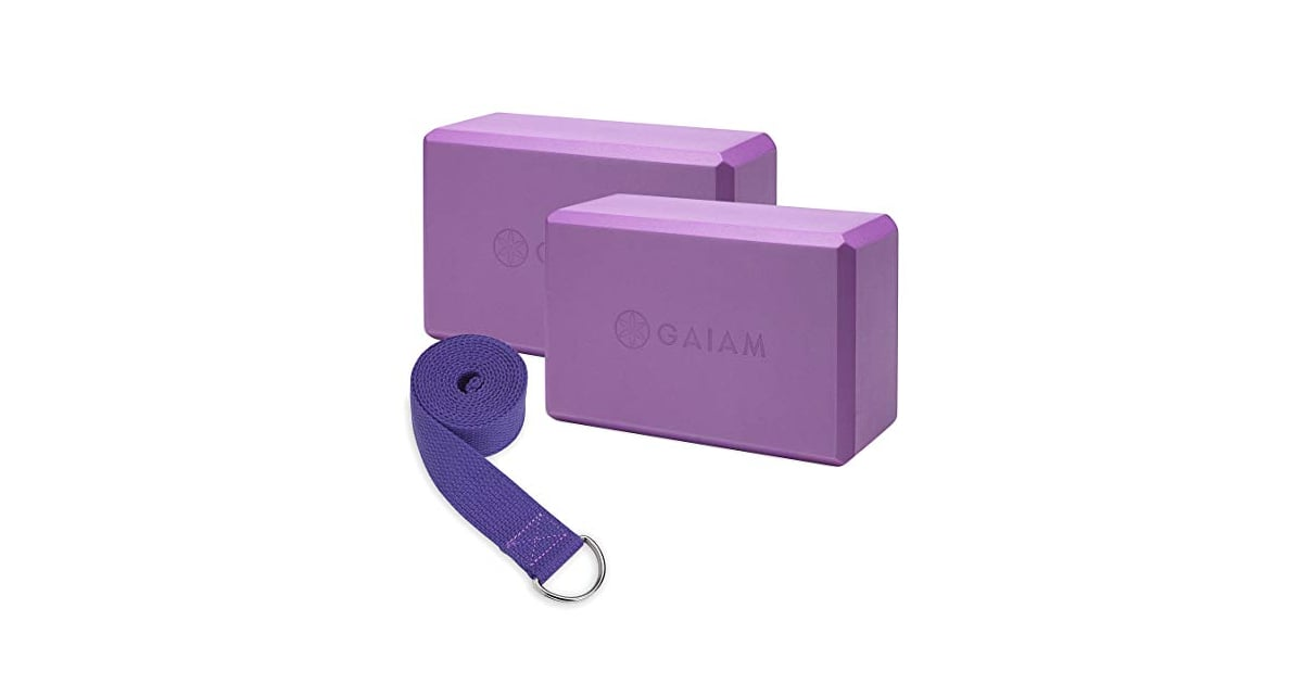Gaiam Essentials Yoga Block 2 Pack Yoga Strap Set Here S How You Can Build An At Home Gym For Under 75 Popsugar Fitness Photo 2