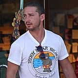 Shia LaBeouf Keeps His Lips and Arms on His New Girlfriend