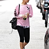 Nicole Richie Is Juiced Up For Another Gym Visit