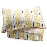 Vintage Palm 3 Piece Quilt Set