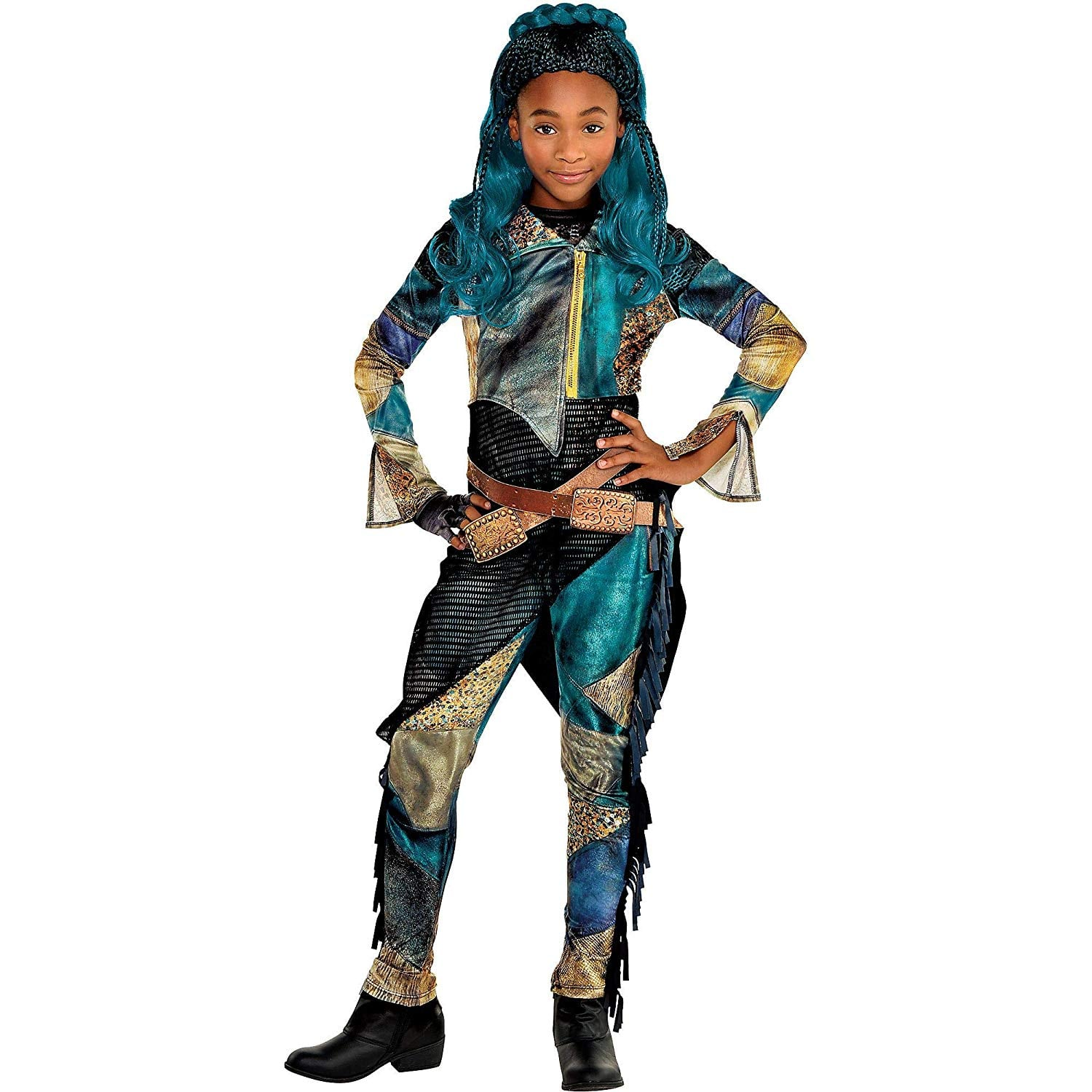 Party City Uma Halloween Costume For Girls