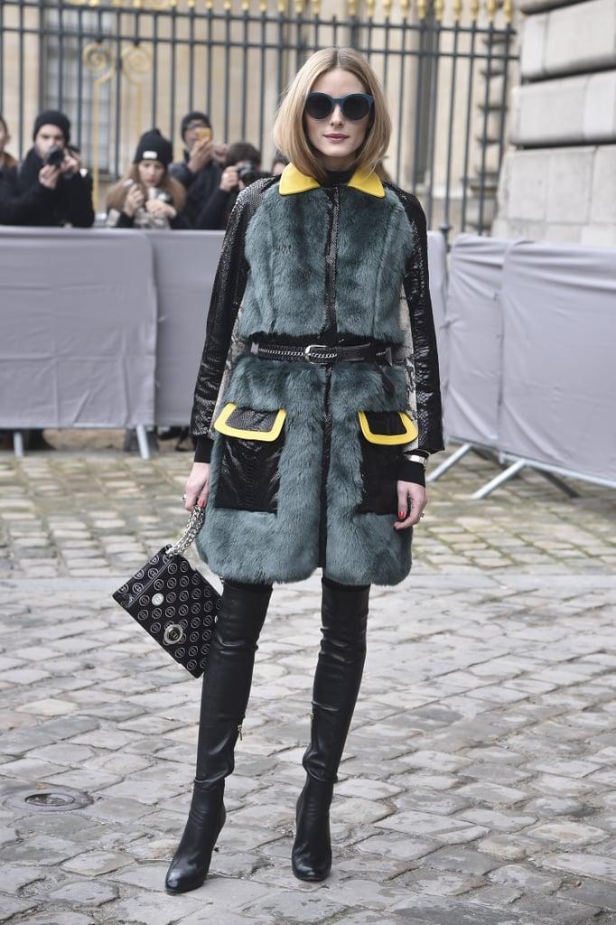 Fashion colours 2017 - Olivia Palermo S Winter Style 2015 Popsugar Fashion
