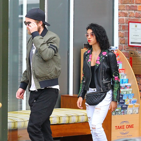 Robert Pattinson and FKA Twigs in England